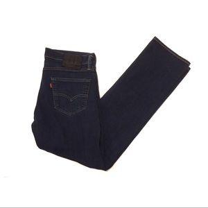 EUC Levi's 504 blue jeans, 32 x 34, Black Label